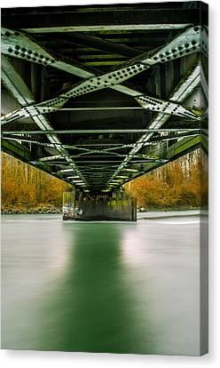 Water Under The Bridge 2 Canvas Print