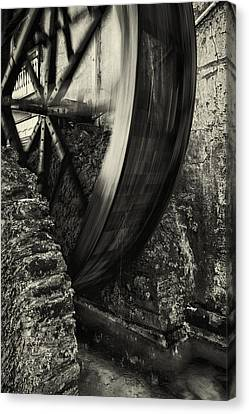 Augustine Canvas Print - Water Wheel by Mike Lang