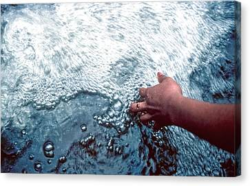 Canvas Print featuring the photograph Water Within Reach by Kellice Swaggerty
