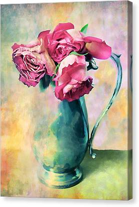 Watercolor Still Life Canvas Print by Jessica Jenney