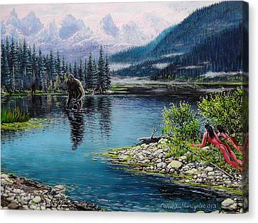 Watercress Can Wait Canvas Print