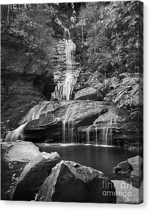 Waterfall 03 Canvas Print by Colin and Linda McKie