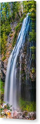Canvas Print featuring the photograph Waterfall 3 by Chris McKenna