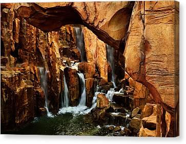 Waterfall 3 Canvas Print by Richard Zentner