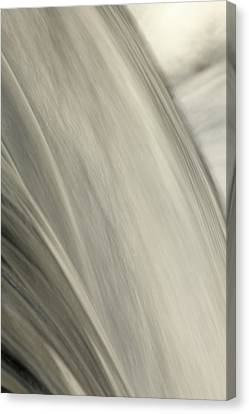 Waterfall Abstract Canvas Print by Karol Livote