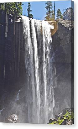 Waterfall Canvas Print by Brian Williamson