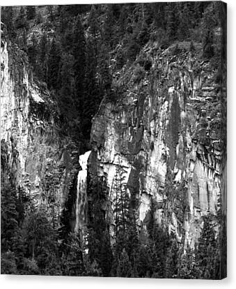 Canvas Print - Waterfall By Marble Colorado by Robert Lozen