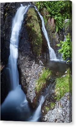 Waterfall Glen Etive Canvas Print