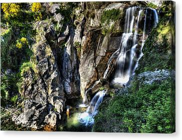 Waterfall IIi Canvas Print by Marco Oliveira