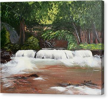 Waterfall Magic Canvas Print