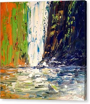 Waterfall No. 1 Canvas Print