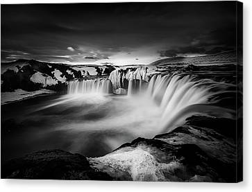 Waterfall Of The Gods Canvas Print