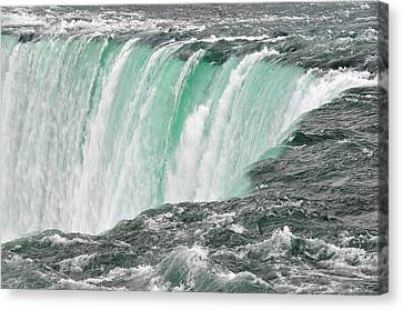 Waterfall Canvas Print by Paul Van Baardwijk