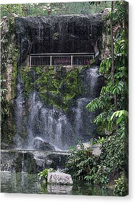 Waterfall Canvas Print by Sergey Lukashin