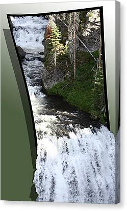 Waterfall Canvas Print by Shane Bechler