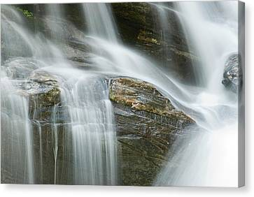 Waterfall The River Vezasca Lavertezzo Canvas Print by Thomas Aichinger
