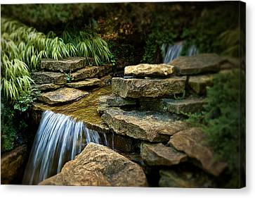 Waterfall Canvas Print by Tom Mc Nemar