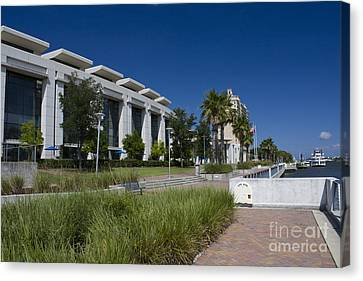Waterfront Convention Center Canvas Print