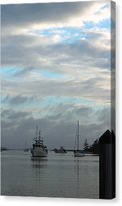 Evening Serenity II Canvas Print by Suzanne Gaff