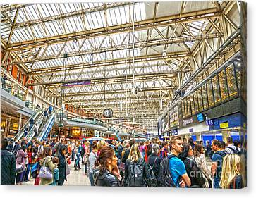 Waterloo Station Canvas Print