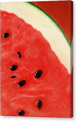 Watermelon Canvas Print by Anastasiya Malakhova