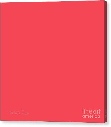 Watermelon Canvas Print by Andee Design