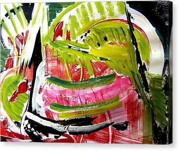 'watermelon' Canvas Print by Carol Skinner