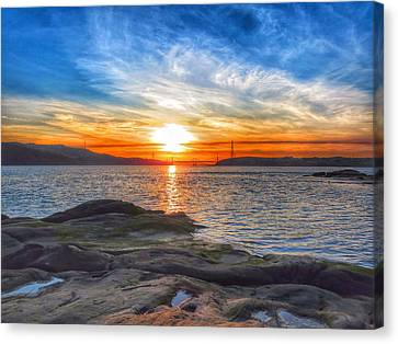 Waters Edge Canvas Print by Brian Maloney