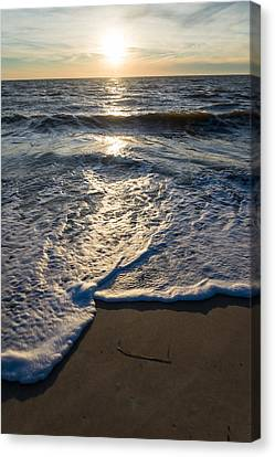 Water's Edge Canvas Print by Kristopher Schoenleber