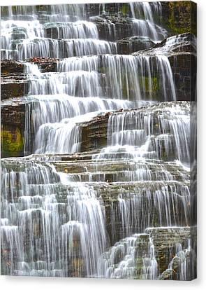 Eternal Flow Canvas Print - Waters Eternal Flow by Frozen in Time Fine Art Photography