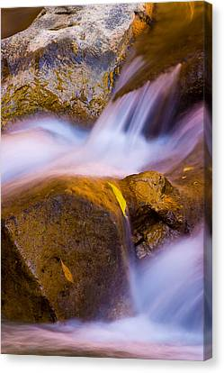 Waters Of Zion Canvas Print by Adam Romanowicz