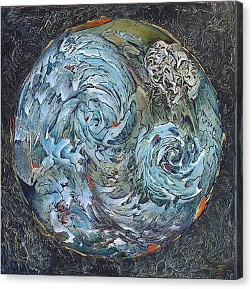 Waterworld Canvas Print by Linda Carmel