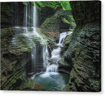 Watkins Glen Canvas Print by Bill Wakeley