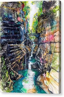 Watkins Glen Gorge Canvas Print