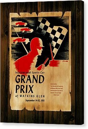 Watkins Glen Grand Prix 1951 Canvas Print