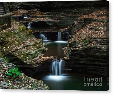 Watkins Glen In Autumn Canvas Print