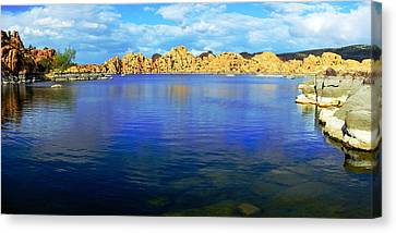 Watson Lake #2 Canvas Print by Richard Henne