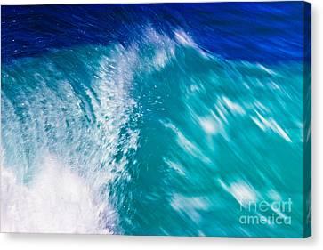 Wave 01 Canvas Print