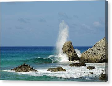 Wave At Boldro Beach Canvas Print