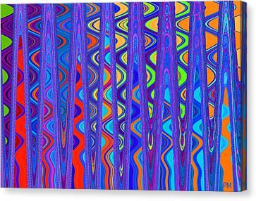 Wave Beyond A Wave Canvas Print