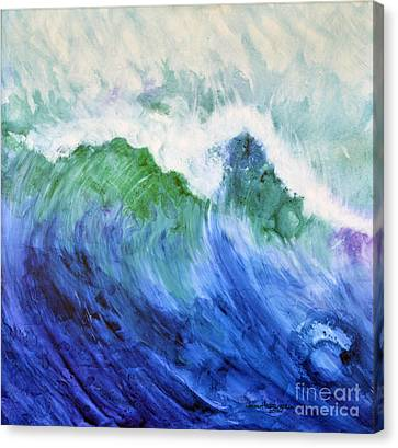 Wave Dream Canvas Print by Joan Hartenstein