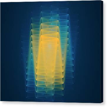 Quantum Theory Canvas Print - Wave Function Conceptual Artwork by David Parker