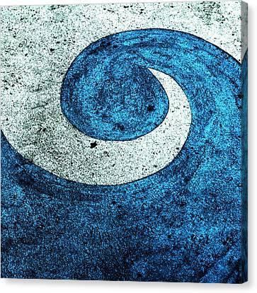 Wave Canvas Print by Nancy Merkle