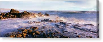 Roca Canvas Print - Wave On The Beach, Las Rocas Beach by Panoramic Images
