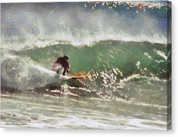 Wave Runner  Canvas Print by Richard Worthington