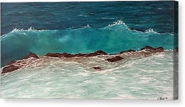 Canvas Print - Wave by Svetla Dimitrova