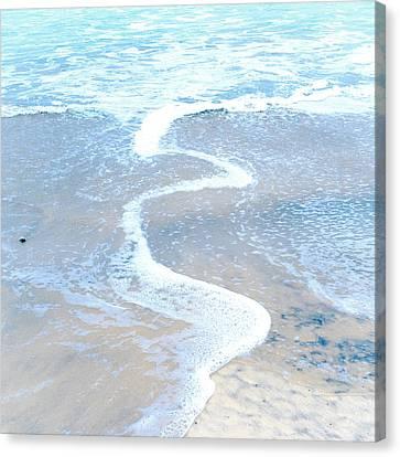 Wave Swirl Canvas Print by Tanya Harrison