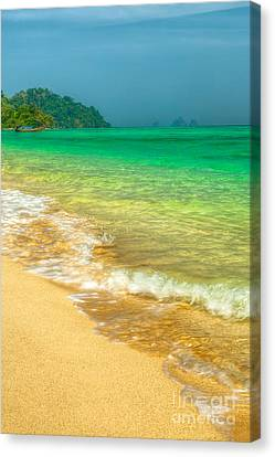 Waves Canvas Print by Adrian Evans