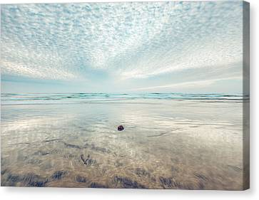 Waves All Around Canvas Print