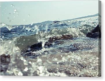 Waves Canvas Print by Ivan Vukelic